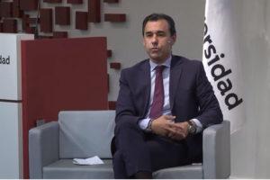 Fernando Martínez Maíllo en un momento de su charla