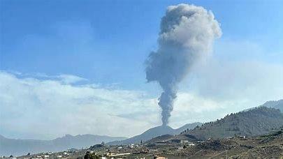 El volcán vuelve a reactivarse