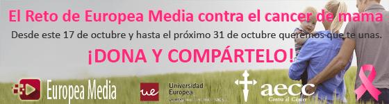 Reto Europea Media contra el cancer