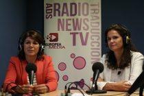 Pilar Larrea y Olimpia Peyrona Campofrío