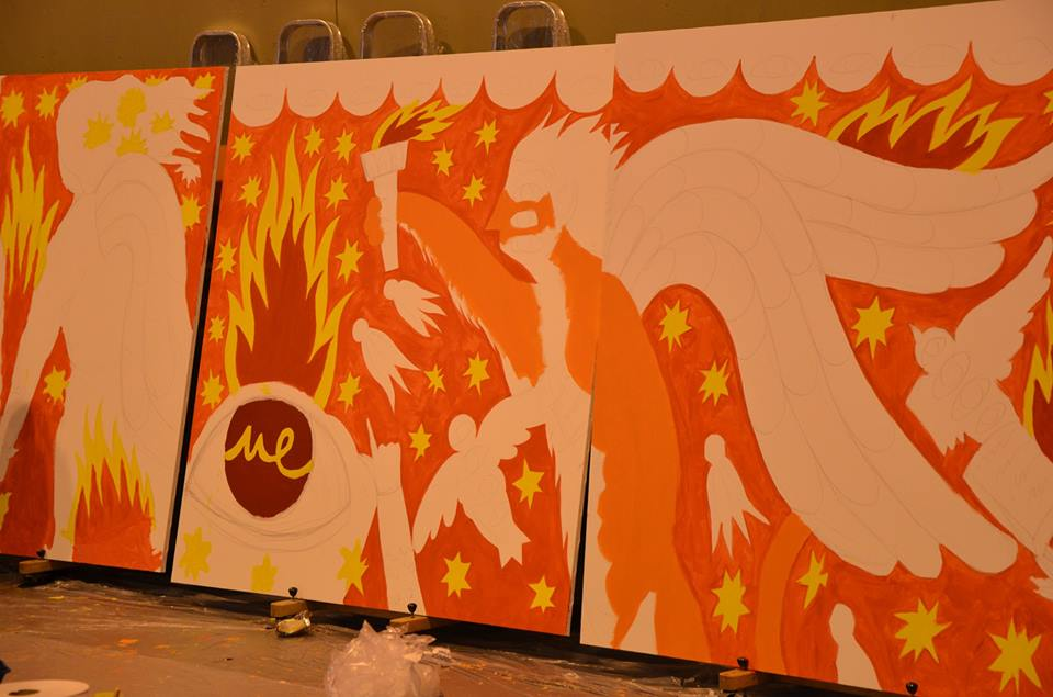 Módulo del mural