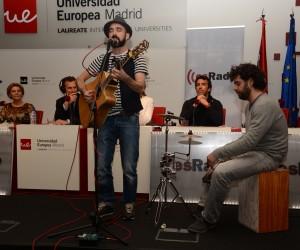 Chani Martín cantante de El zurdo/Teresa Novillo