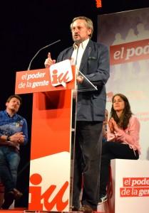 Willy Meyer, el primero en lista del partido IU