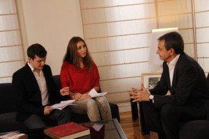 EuropeaMedia entrevista a José Luis Rodríguez Zapatero