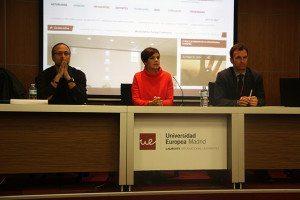 Conferencia y entrega de carnets de prensa con Cristina Villanueva
