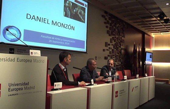 Periodismo al límite y Daniel Monzón en el inicio de curso 14/15