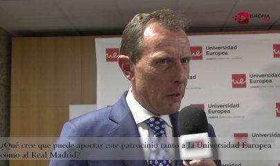 Presentación del patrocinio Real Madrid y Universidad Europea