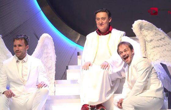 El actor Mariano Peña protagoniza un divertido monólogo encarnado en Dios